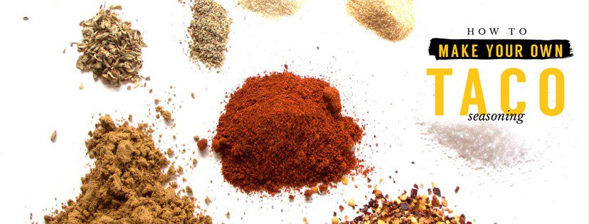 how to make your own taco seasoning