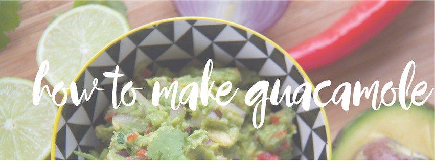 how to make guacamole recipe