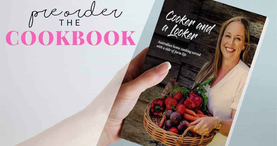 pre order Cooker and a Looker cookbook